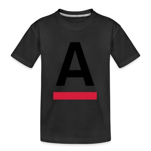 Alliansfritt Sverige A logo 2013 Färg - Ekologisk premium-T-shirt tonåring