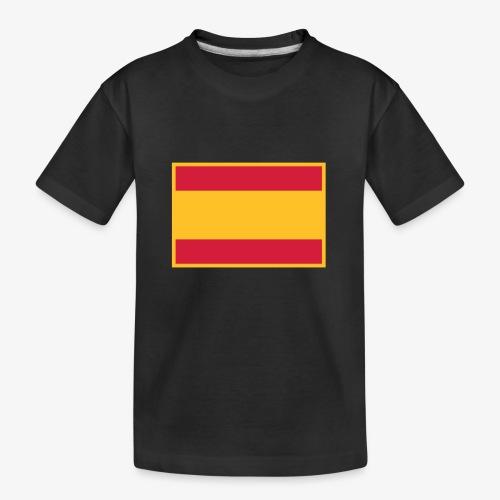 Banderola española - Camiseta orgánica premium adolescente