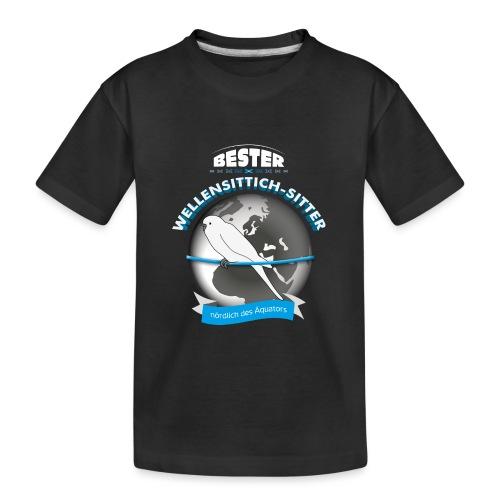 Wellensittich Sitter - Teenager Premium Bio T-Shirt