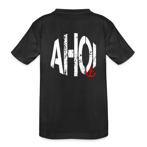 LIMITED AHOI Schriftzug - Teenager Premium Bio T-Shirt