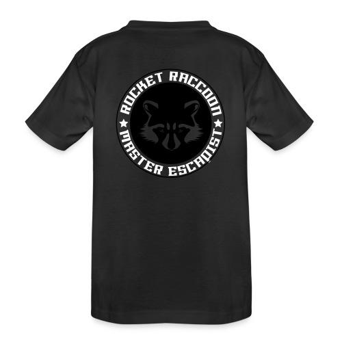 Rocket raccoon logo full - T-shirt bio Premium Ado