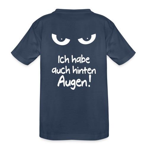 Böser Blick Augen Schlechte Laune Sprüche Geschenk - Teenager Premium Bio T-Shirt