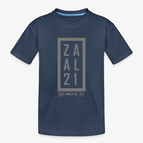 T-SHIRT-BLOK - Teenager premium biologisch T-shirt