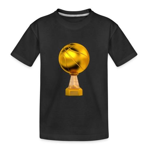 Basketball Golden Trophy - T-shirt bio Premium Ado