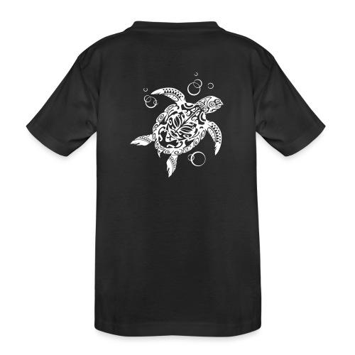 Watchful Turtle - Teenager Premium Organic T-Shirt