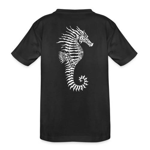 Alien Seahorse Invasion - Teenager Premium Organic T-Shirt