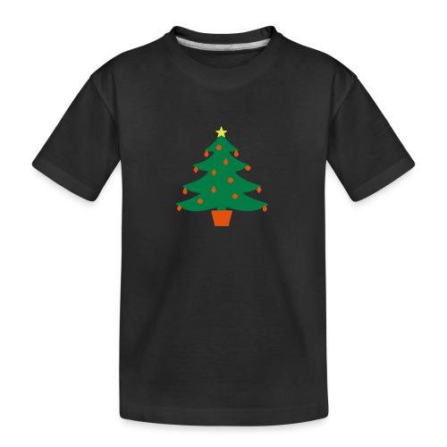 Christmas Tree - Teenager Premium Organic T-Shirt