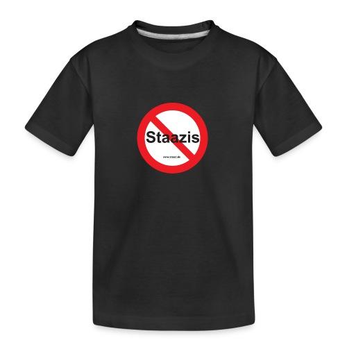 Staazis Verboten - Teenager Premium Bio T-Shirt