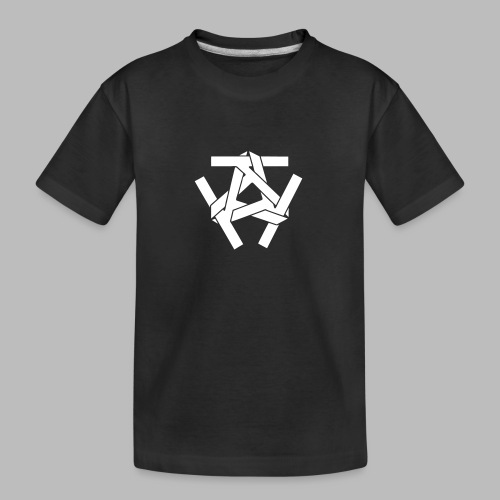KKK-Logo-vektor - Teenager Premium Bio T-Shirt