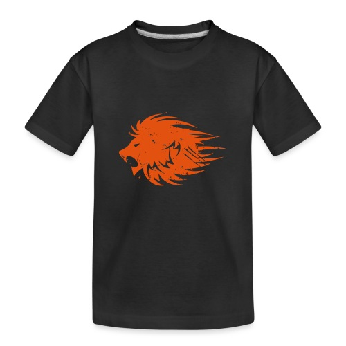 MWB Print Lion Orange - Teenager Premium Organic T-Shirt