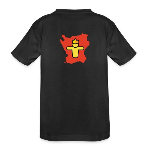 Turf Skåne symbol - Ekologisk premium-T-shirt tonåring