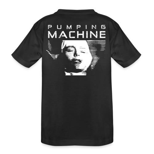 Negant logo + Pumping Machine - Teenager premium T-shirt økologisk