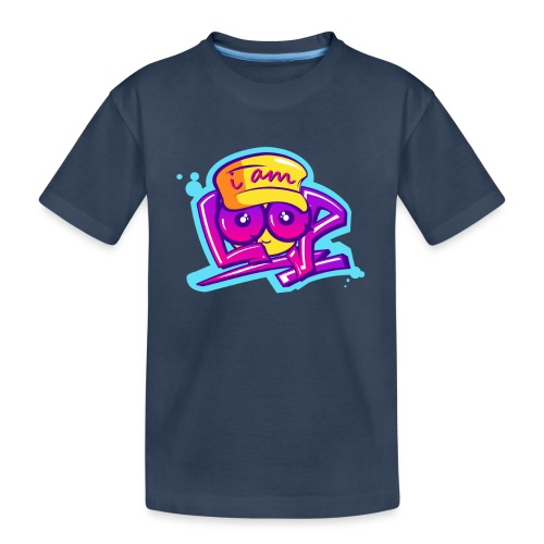 Graffiti I AM LOOP - Teenager Premium Bio T-Shirt