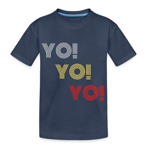 YO! - Teenager Premium Bio T-Shirt