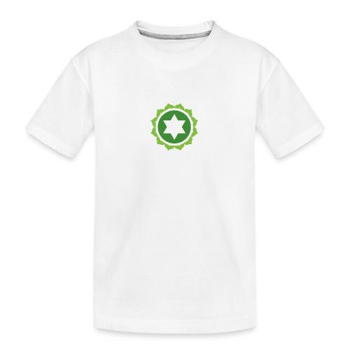 The Heart Chakra, Energy Center Of The Body - Teenager Premium Organic T-Shirt