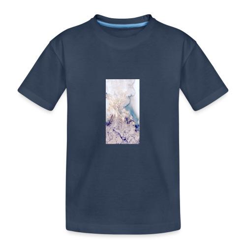 cbbe77bace48f38f4b76a3517b0a33aa - Maglietta ecologica premium per ragazzi