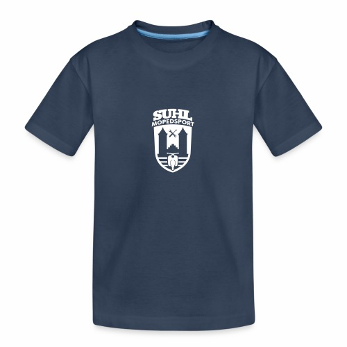 Suhl Mopedsport Schwalbe 2 Logo - Teenager Premium Organic T-Shirt