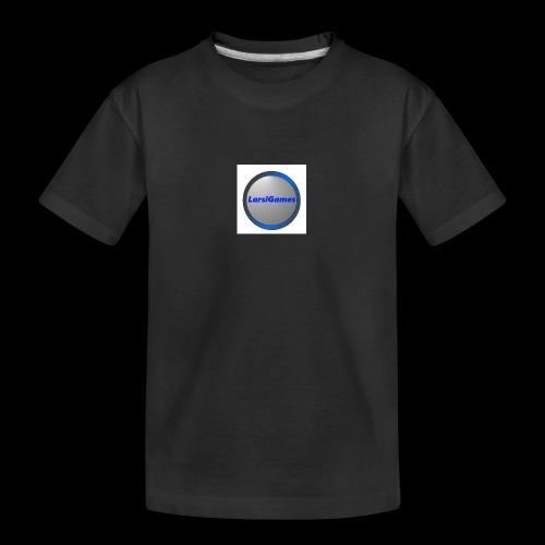LarsiGames - Teenager premium biologisch T-shirt