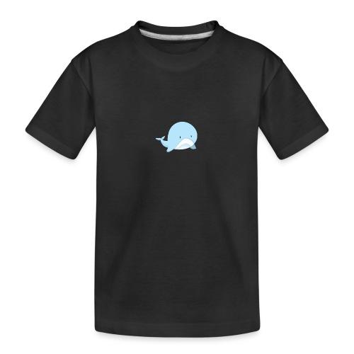 Whale - Maglietta ecologica premium per ragazzi