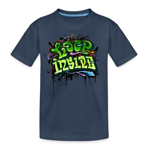 Loop INSIDE 😎 - Teenager Premium Bio T-Shirt
