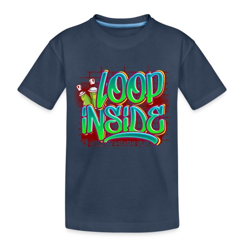Loop inside 🤪 - Teenager Premium Bio T-Shirt