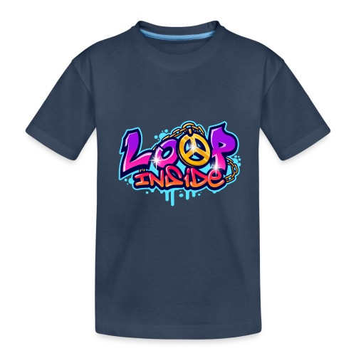 Loop Inside 3 - Teenager Premium Bio T-Shirt