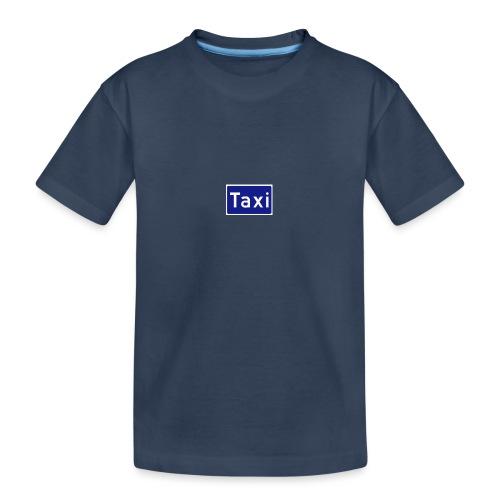 Taxi - Premium økologisk T-skjorte for tenåringer