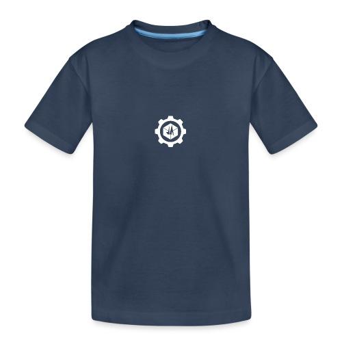 Jebus Adventures Cog White - Teenager Premium Organic T-Shirt