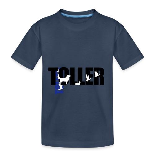 Toller Design s w - Teenager Premium Bio T-Shirt