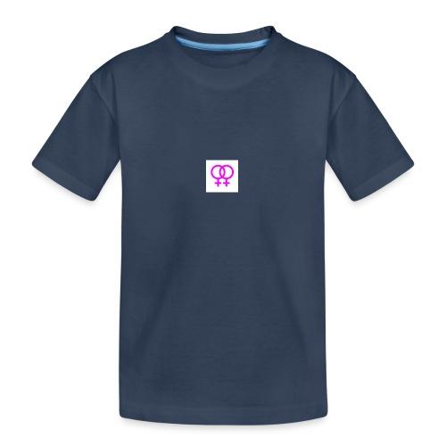 lesbian logo - T-shirt bio Premium Ado