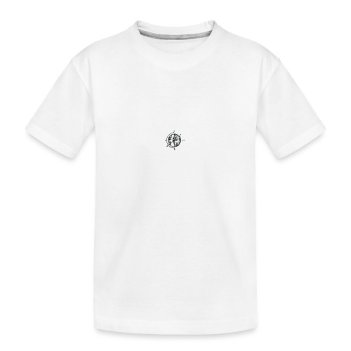 KOMPAS OFFICIAL - Teenager premium biologisch T-shirt