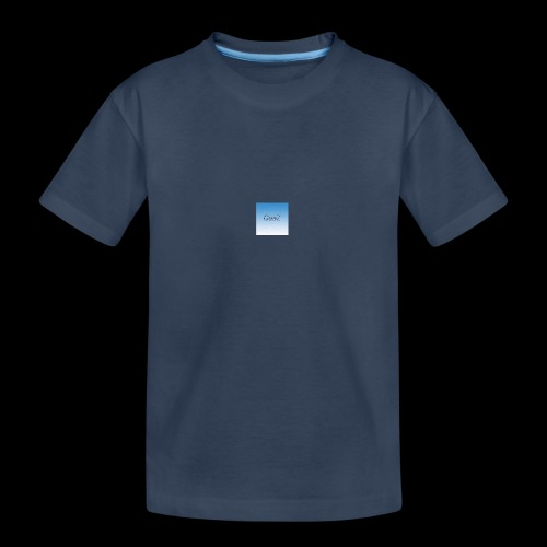 sky blue - Teenager Premium Organic T-Shirt