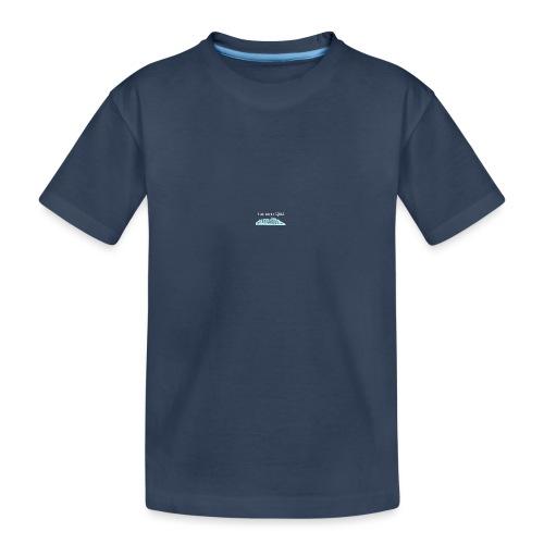 Flat Earth QED - Teenager Premium Organic T-Shirt