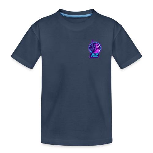 AZ GAMING LOGO - Teenager Premium Organic T-Shirt