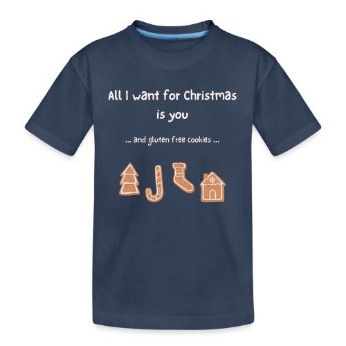 All I want for Christmas - Gluten free - Teenager Premium Bio T-Shirt
