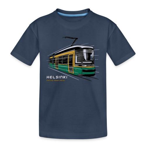 Helsingin Raitiovaunu T-paidat, 154 upeaa tuotetta - Teinien premium luomu-t-paita