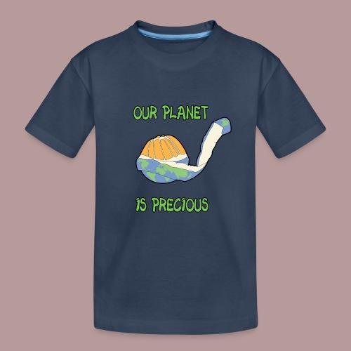 Our planet is precious - T-shirt bio Premium Ado