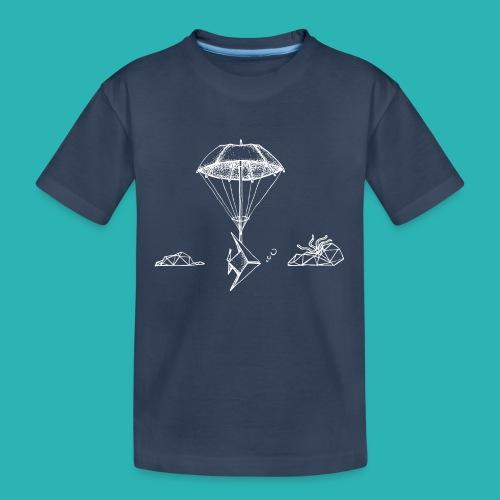 Galleggiar_o_affondare-png - Maglietta ecologica premium per ragazzi