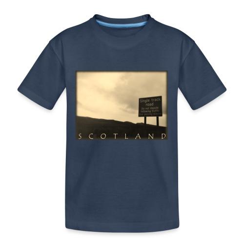 Scotland #1 (Vintage) - Teenager Premium Bio T-Shirt