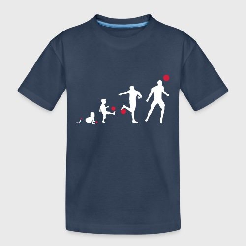 Football Evolution - T-shirt bio Premium Ado