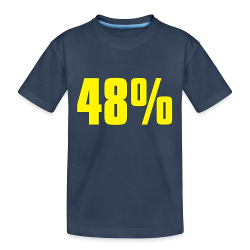 48% - Teenager Premium Organic T-Shirt