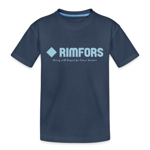 Rimfors bamboo ski poles - Ekologisk premium-T-shirt tonåring
