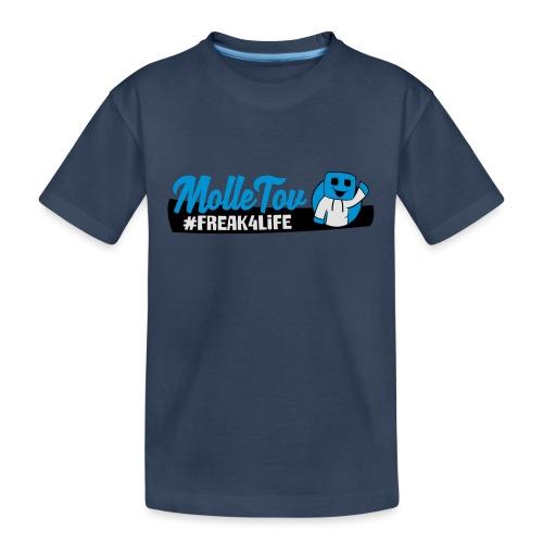 Nyt Logo4 - Teenager premium T-shirt økologisk