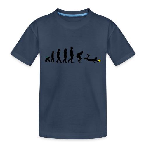 Evolution Defense - Maglietta ecologica premium per ragazzi