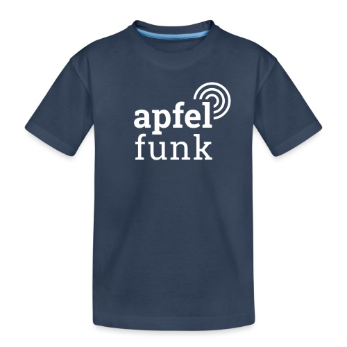 Apfelfunk Dark Edition - Teenager Premium Bio T-Shirt