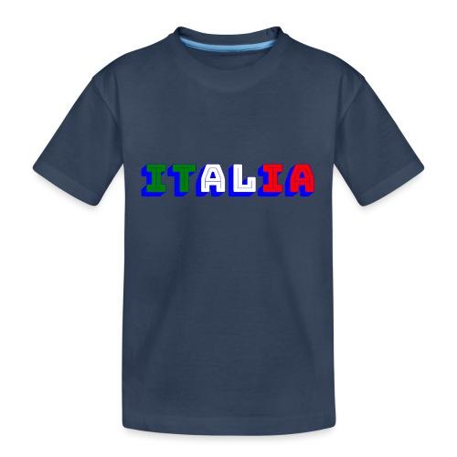 Italia - Maglietta ecologica premium per ragazzi