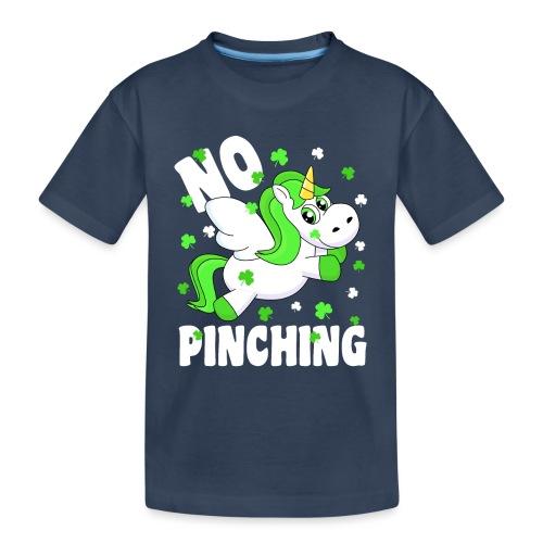 St. Patricks Day No Pinching Unicorn - Teenager Premium Bio T-Shirt