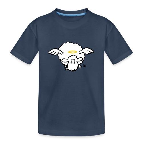 Angel Sheep - Premium økologisk T-skjorte for tenåringer