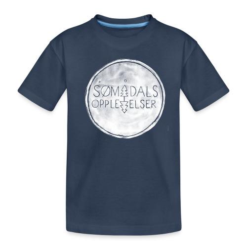Sømådalsopplevelser - Premium økologisk T-skjorte for tenåringer
