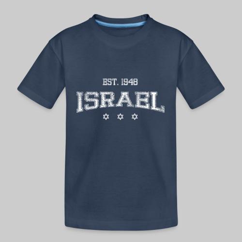ISRAEL-white - Teenager Premium Organic T-Shirt